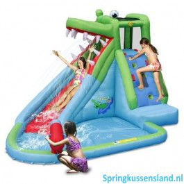 Happy Hop Crocodile Pool Springkussen