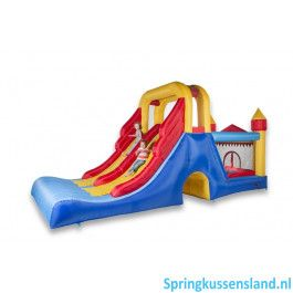Avyna Springkussen Double Mega Slide 4 in 1