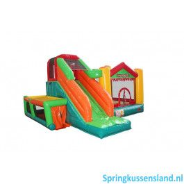 Avyna Springkussen Fun Palace Big 9 in 1 Professioneel